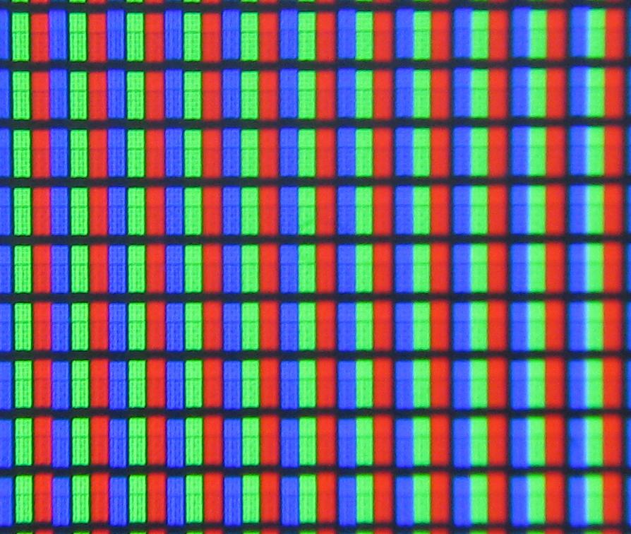 Les Pixels De La Télévision En Couleur