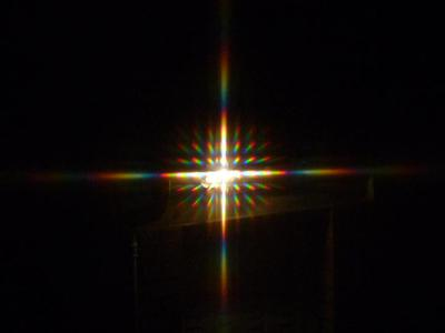 Diffraction à travers un rideau