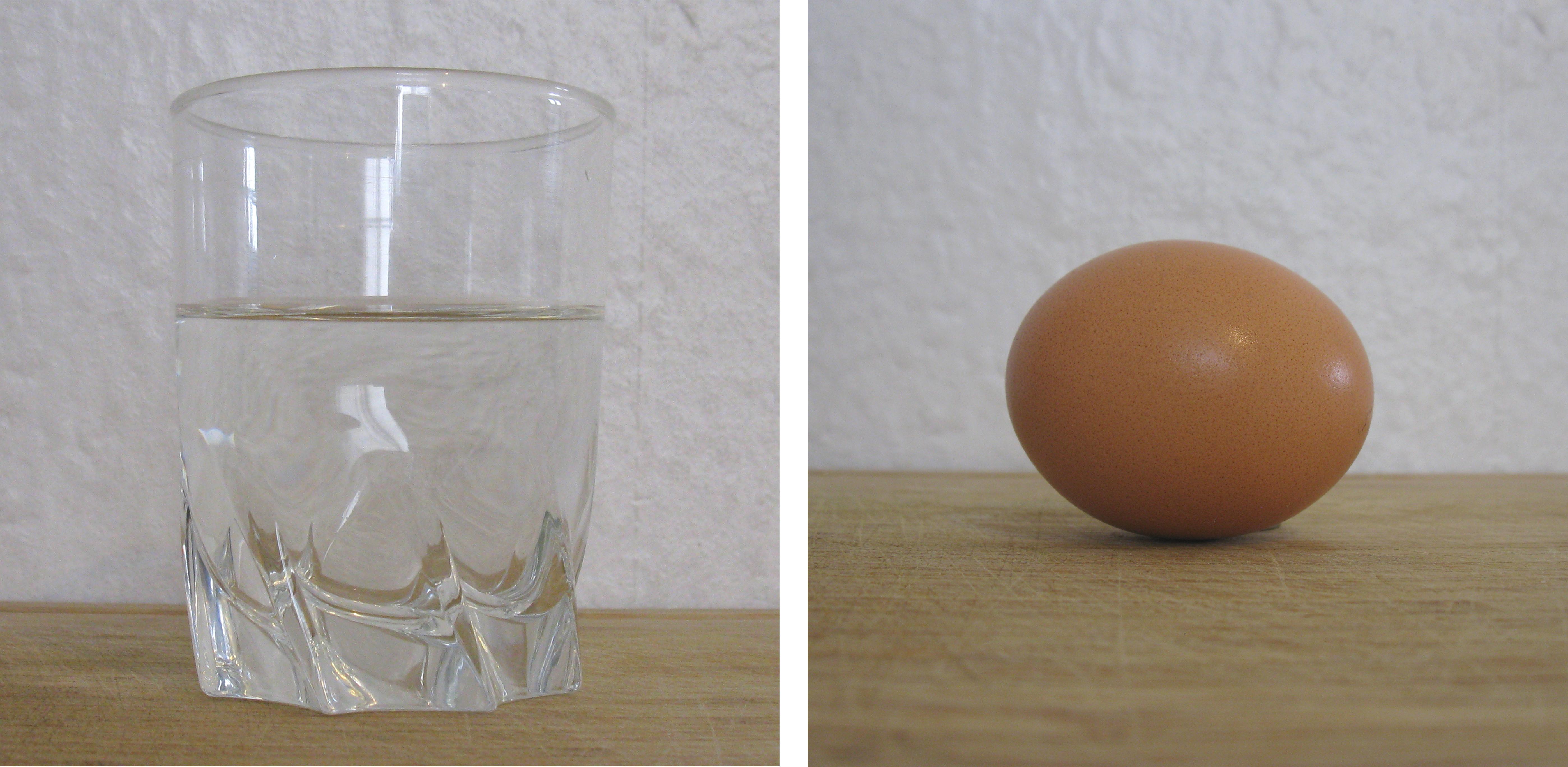 Dissoudre la coquille d 39 un uf dans du vinaigre exp rience for Place du verre a eau sur une table